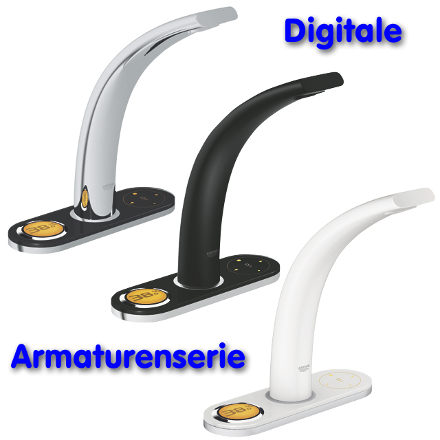 Digital-Waschtischarmatur GROHE ONDUS