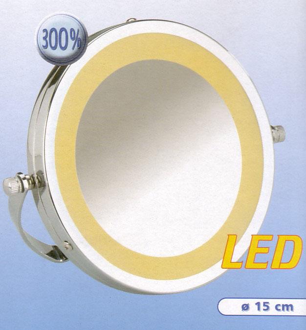 Kosmetikspiegel Taschenspiegel LED, Art.Nr.: 5655 350 100