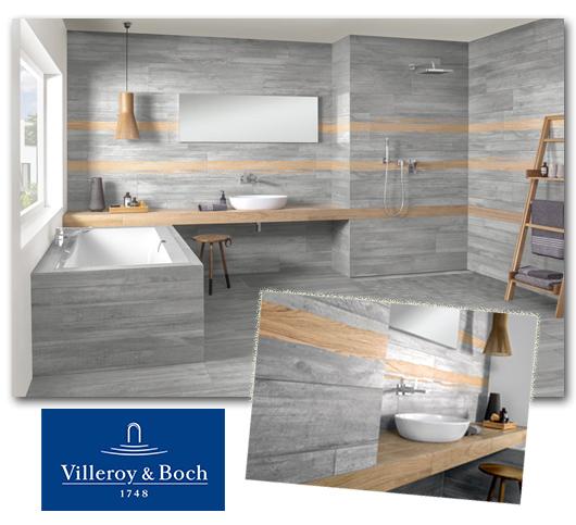 Fliesen fürs Bad von Villeroy & Boch