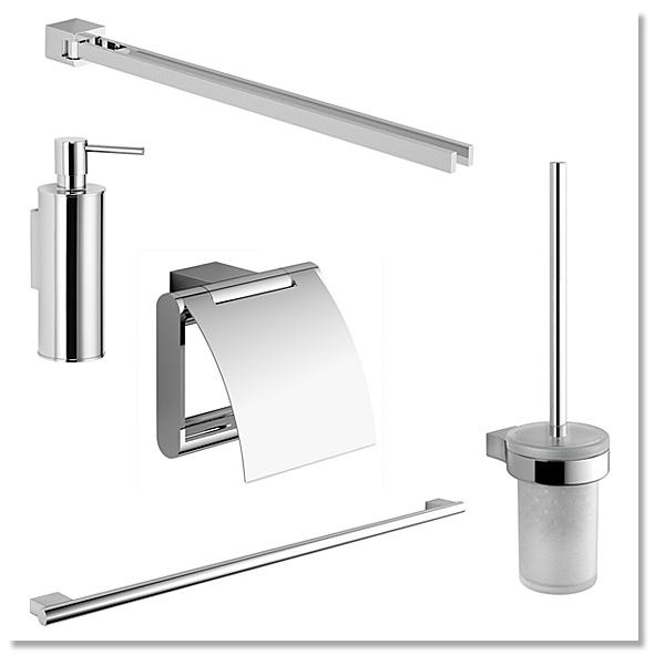 Badausstattung für Bad und WC