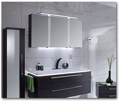 Badmöbel mit LED - Beleuchtung für mehr Licht im Bad