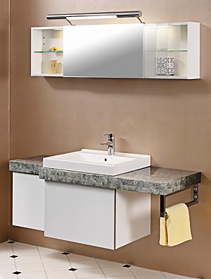 Waschtischeinheit mit Spiegelschrank
