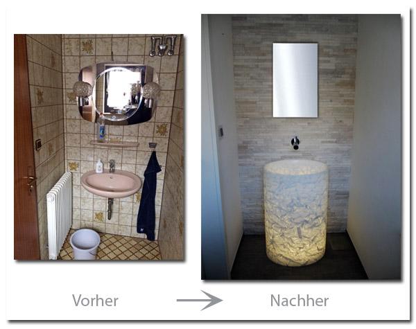 Gäste-WC im modernen Design