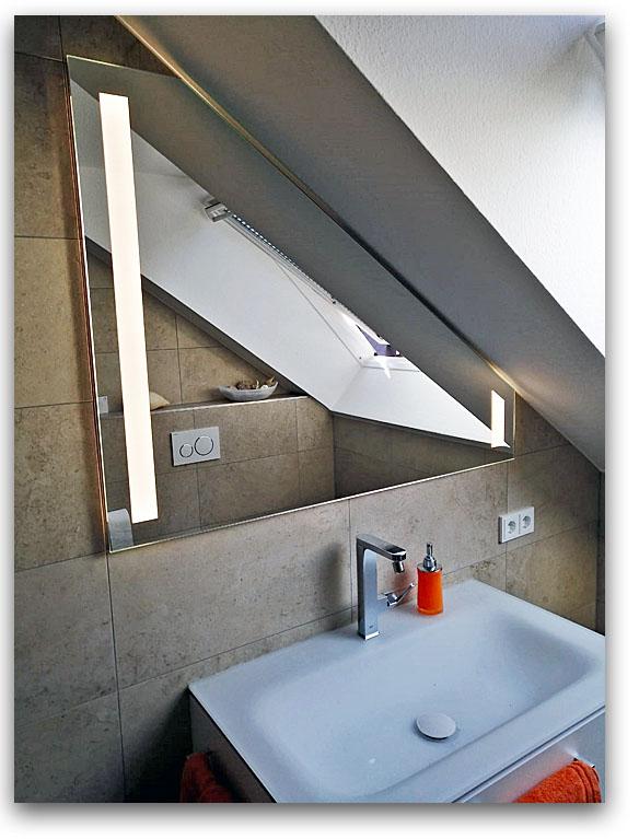 Badspiegel nach Mass