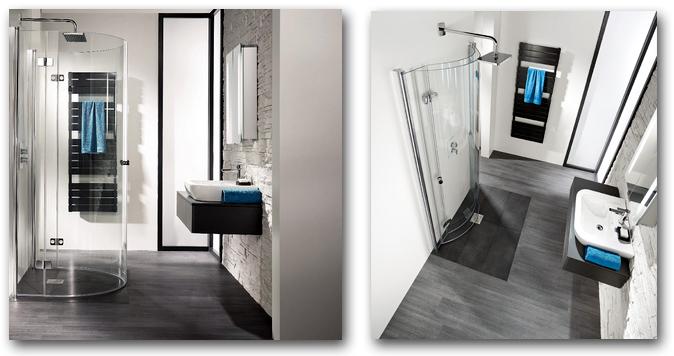 Duschkabine als Kleinbad-Lösung