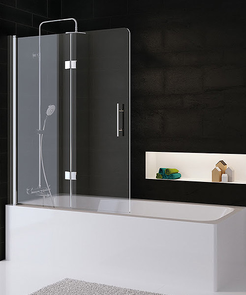 Duschwand für die Badewanne