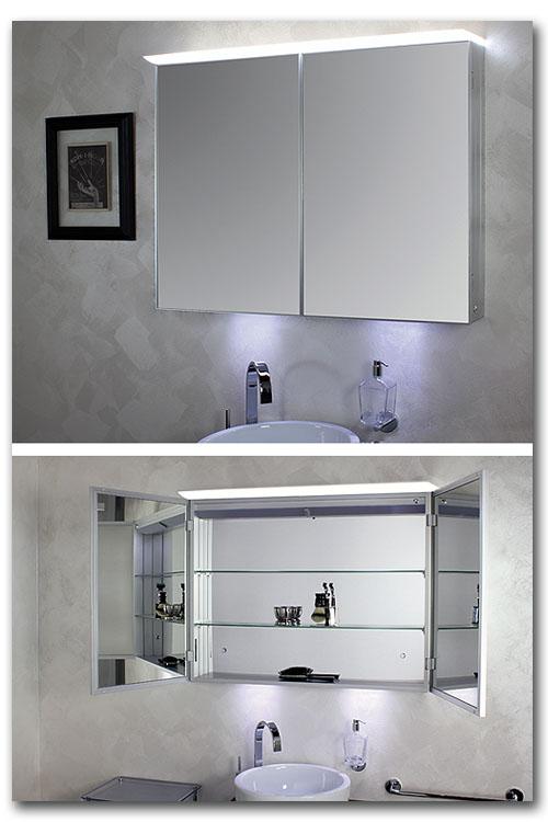 Spiegelschrank für das Badezimmer