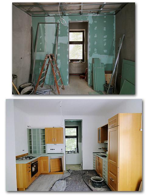Wohnung sanieren in München - Küche