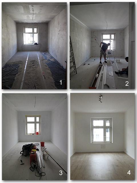 Wohnungssanierung im Altbau in München